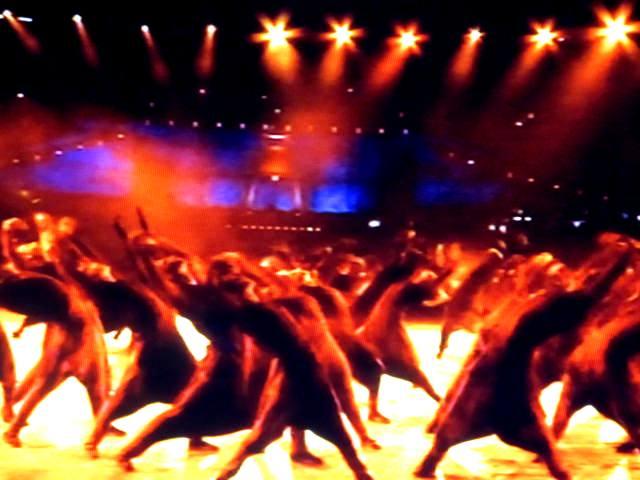 XXX Олимпийские игры. Лондон. Великобритания. Открытие состоялось 27.07. 2012. Фото - председатель НСНБР А.Г.Огнивцев